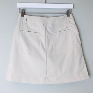 Nike Shorts - Nike Womens Tan Golf Skort with Built In Shorts